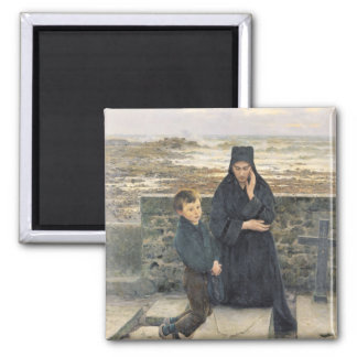 The Widow of the Ile de Sein, 1880 Refrigerator Magnets