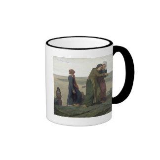 The Widow or The Fisherman's Family Ringer Coffee Mug