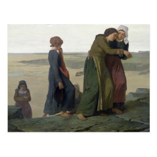 The Widow or The Fisherman's Family Postcard