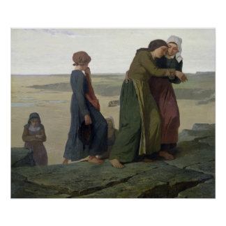 The Widow or The Fisherman's Family Poster