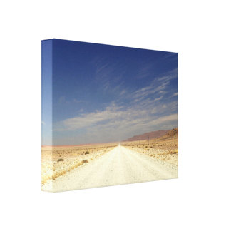 The width of Namibia Gallery Wrap Canvas