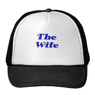 The Wife Mesh Hat