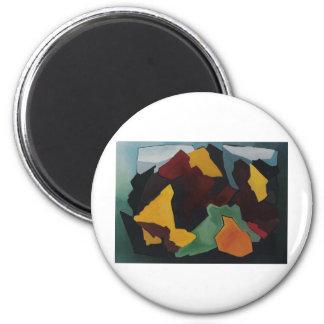 The Wild 6 Cm Round Magnet