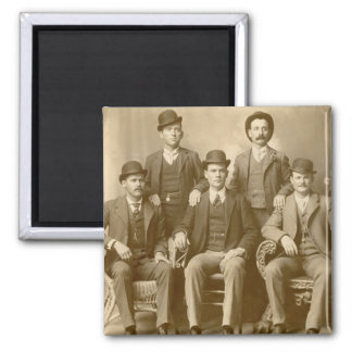 The Wild Bunch - Butch Cassidy & Sundance Kid Square Magnet
