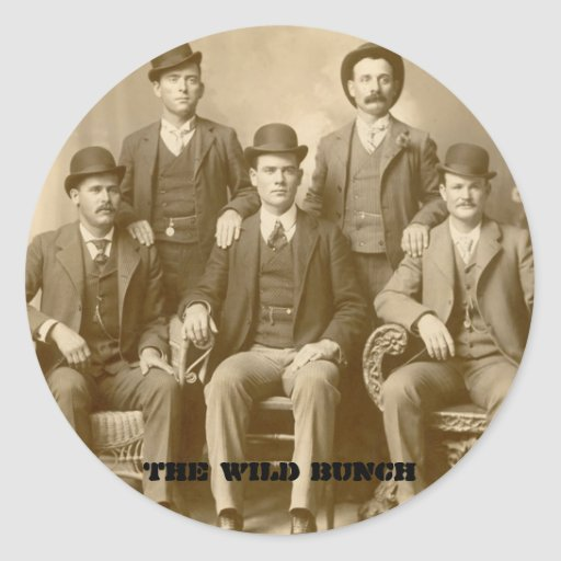 The Wild Bunch - Butch Cassidy & Sundance Kid Sticker