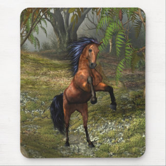 The Wild Horse ..  a mare`s tale Mouse Mat