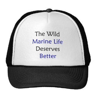 The Wild Marine Life Deserves Better Hats