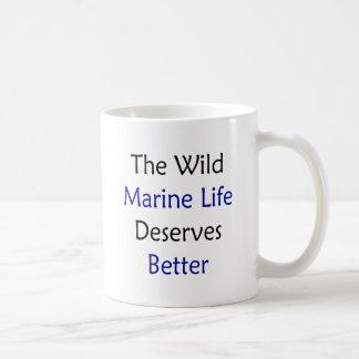 The Wild Marine Life Deserves Better Mugs