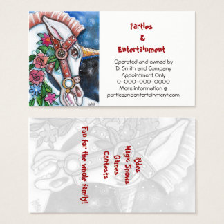 the Wild Unicorn personalized Business Card