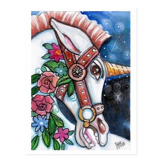 """the Wild Unicorn"" Postcard"