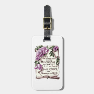 The Wilderness And The Solitary Place Luggage Tag