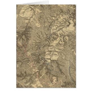 The Wilderness, Virginia Card
