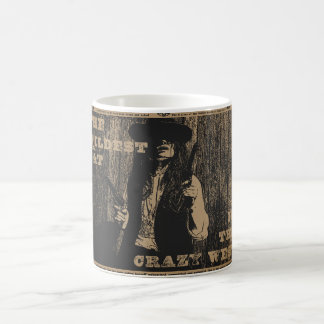 The Wildest Cat in The Crazy West Mug Coffee Mugs