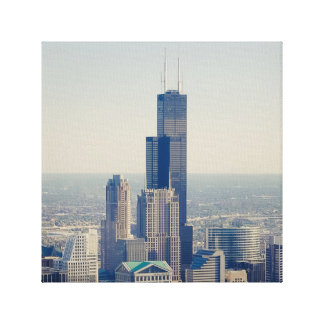 The Willis (ehrm...Sears) Tower Stretched Canvas Print