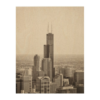 The Willis (ehrm...Sears) Tower Wood Canvas