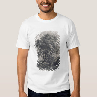 The Willow (etching) Tees