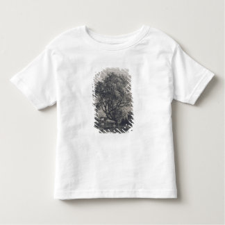 The Willow (etching) Toddler T-Shirt