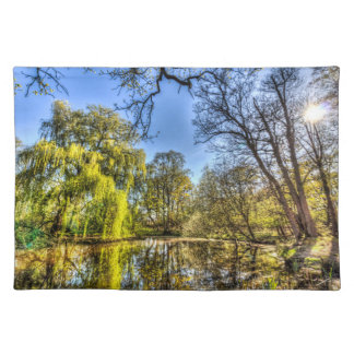 The Willow Tree Pond Placemat