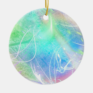 The wind cries.... christmas ornament