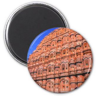 The Wind Palace at Jaipur India 6 Cm Round Magnet