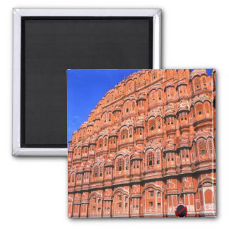 The Wind Palace at Jaipur India Square Magnet