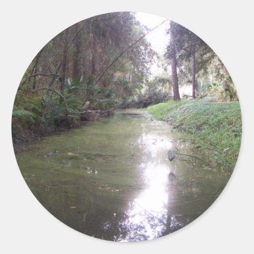 The Winding Creek Sticker