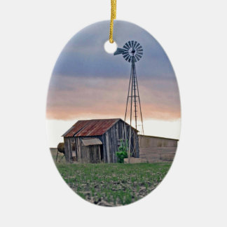 The Windmill Christmas Ornament