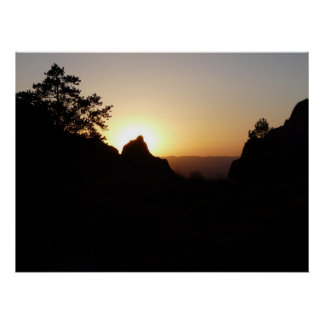 The Window at Sunset-Big Bend National Park Poster