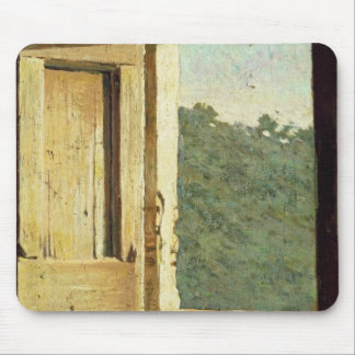 The Window (oil on canvas) Mouse Mat