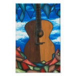 The Window to Guitar Poster