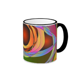 The Window to your Soul Ringer Coffee Mug
