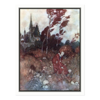 The Wind's Tale by Edmund Dulac Postcard