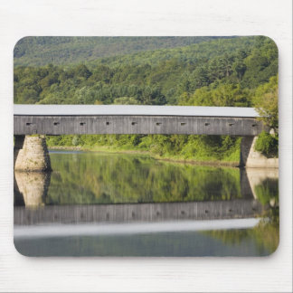 The Windsor-Cornish Covered Bridge spans the Mouse Pad