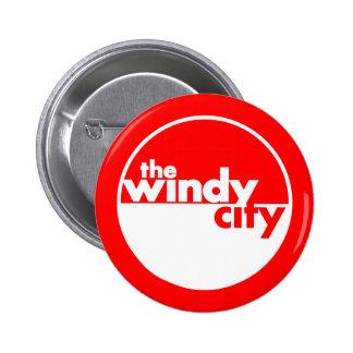 The Windy City 6 Cm Round Badge