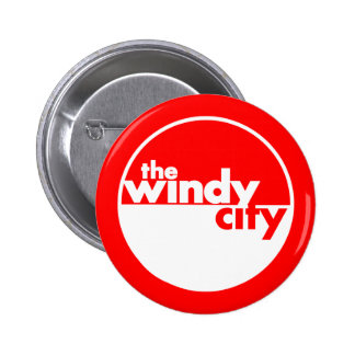 The Windy City Pinback Buttons