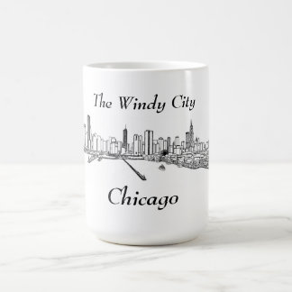 The Windy City Chicago Coffee Mug