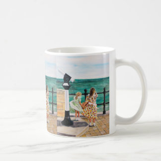 The Windy Day Basic White Mug