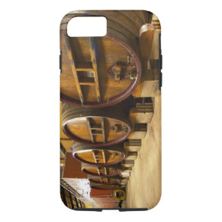 The wine cellar winery with big old wooden casks iPhone 7 case