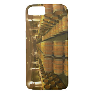 The winery, barrel aging cellar - Chateau Baron iPhone 8/7 Case