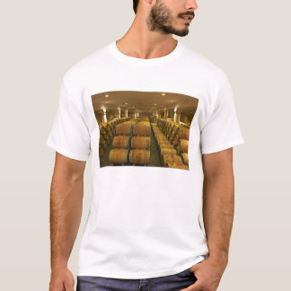 The winery, barrel aging cellar - Chateau Baron T-Shirt