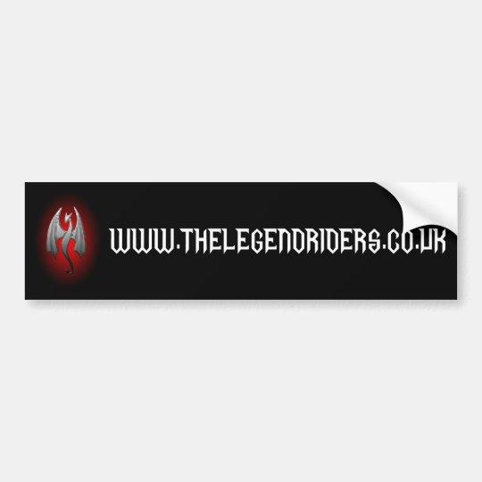 The Wing Warrior bumper sticker