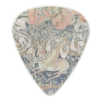 The Winged Deer (tapestry) Acetal Guitar Pick