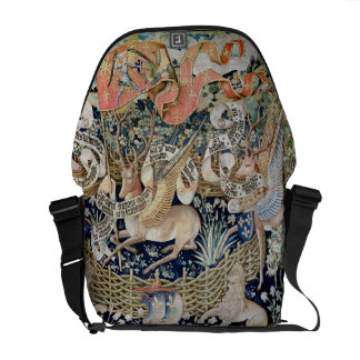 The Winged Deer (tapestry) Courier Bag