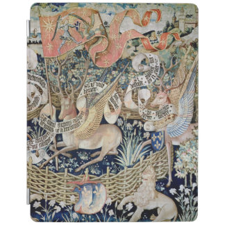 The Winged Deer (tapestry) iPad Cover