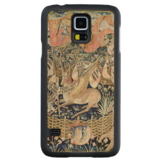 The Winged Deer (tapestry) Maple Galaxy S5 Case