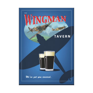 The Wingman Tavern Canvas Print