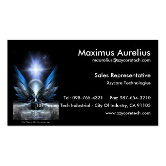 The Wings Of Anthropolis Business Card