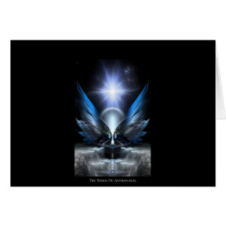 The Wings Of Anthropolis Greeting Card