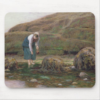 The Winkle Gatherer, 1869 Mouse Pad