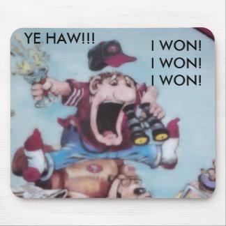 The Winner's Mousepad